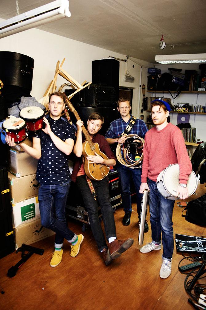 DJANGO DJANGO for NME Magazine