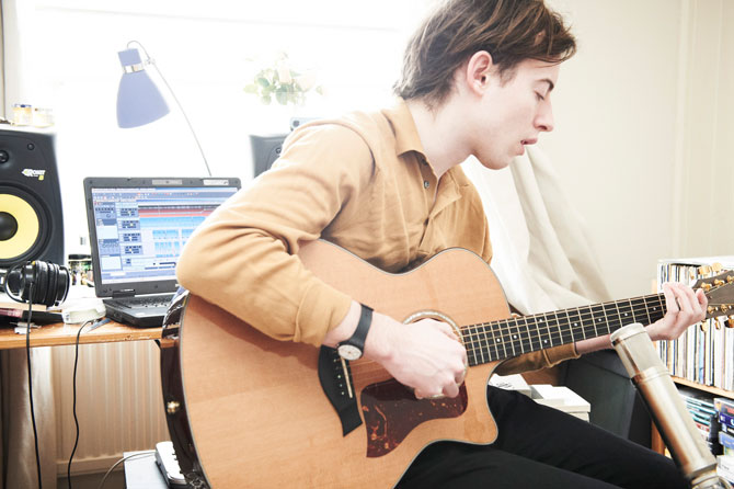 JACK of BOMBAY BICYCLE CLUB for NME Magazine