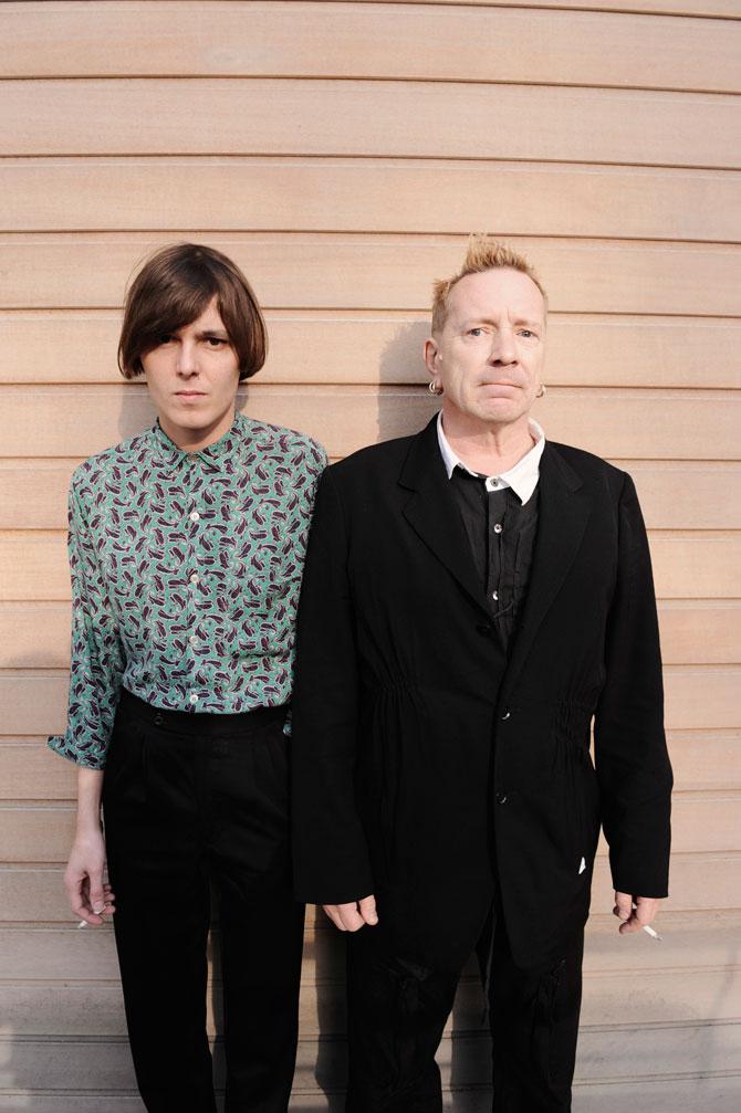 RHYS WEBB & JOHN LYDON for NME Magazine
